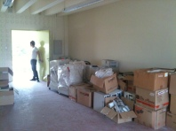 SCYA Space with some barang barang (not ours) at the moment.